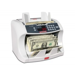 Semacon S-1200 Commercial Currency Counter.:S-1215 UV Counterfeit Detection