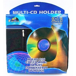 MSI Black and Blue 216 Piece Disc Multi CD Holder